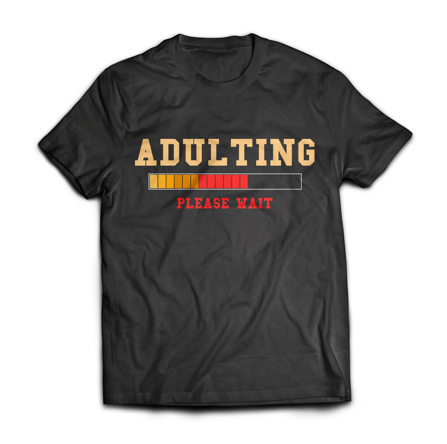 Adulting Please Wait Adult 18th Birthday Gift Ideas For 18 Years Old Girls Boys T Shirt Merch By Amazon Pre Made Designs